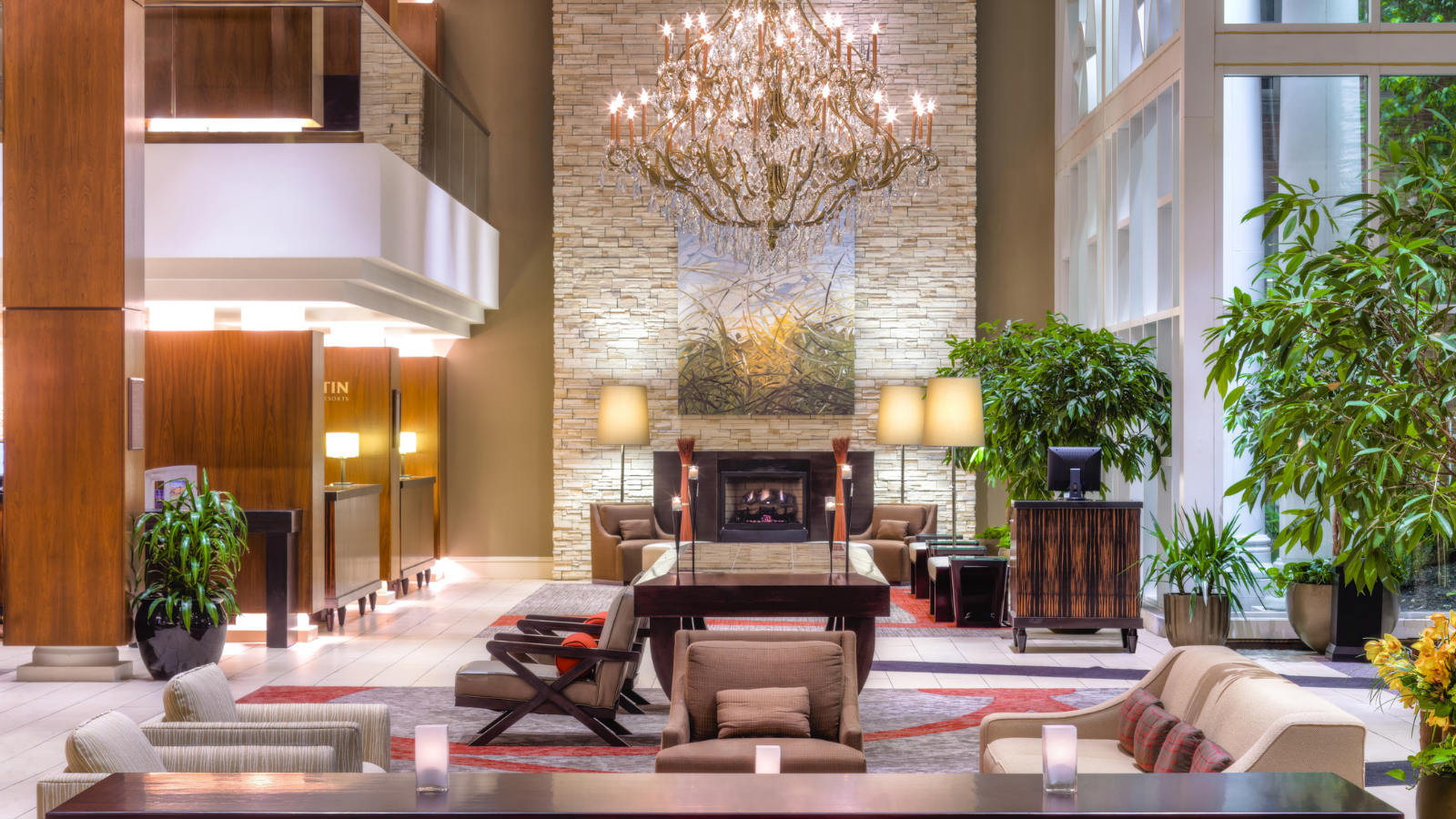 The Westin Governor Morris Morristown Lobby